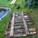 Kaasteluvesialtaan vanha suojaritilä oli todella vaarallisen huonossa kunnossa.